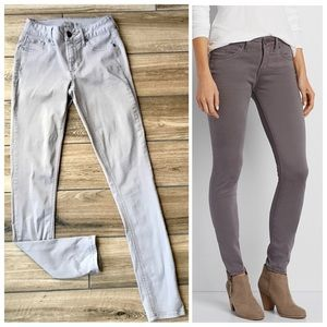 Maurice's light gray skinny jeggings